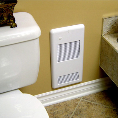 7 best bathroom heaters reviews buying guide 2019 - Electric wall mounted heaters for bathrooms ...