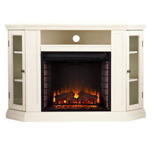Claremont-electric fireplace tv stand