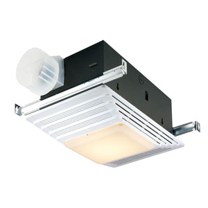 Broan 655 Bathroom Exhaust Fan With Heater