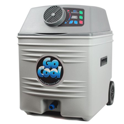 New -GoCool 12V Portable Semi Truck Cab Air Conditioner