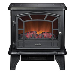 New -DURAFLAME DFS-550-21-BLK ELECTRIC FIREPLACE STOVE
