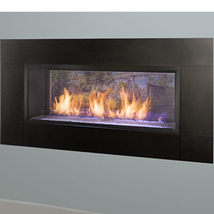 "42"" Artisan Vent Free SCC See-Through Linear Fireplace"