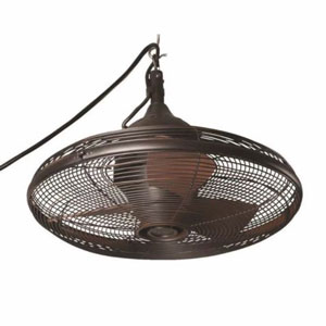 Allen + Roth 20-in Valdosta Outdoor Ceiling Fan