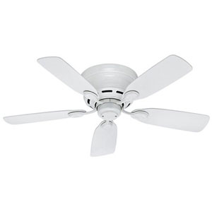"Hunter 51059 42"" Low Profile IV 5-Blade Ceiling Fan"