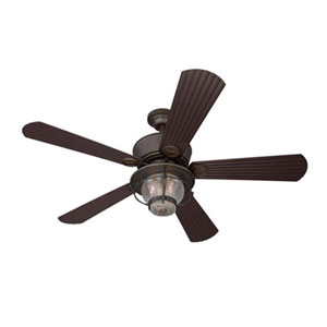 Merrimack Downrod Mount Indoor/Outdoor Ceiling Fan