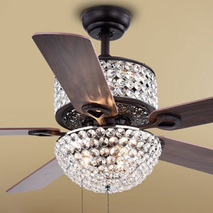 Warehouse of Tiffany CFL-8170BL Ceiling Fan