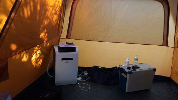 best tent air conditioners for camping