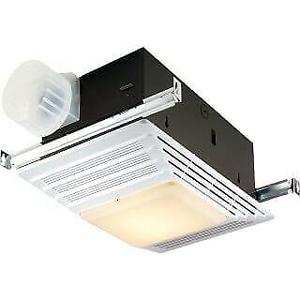 Broan 655 Bathroom Exhaust Fan With Heater