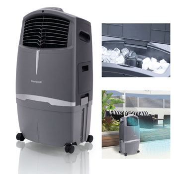 Honeywell 525-729CFM Indoor & Outdoor Portable Evaporative Cooler
