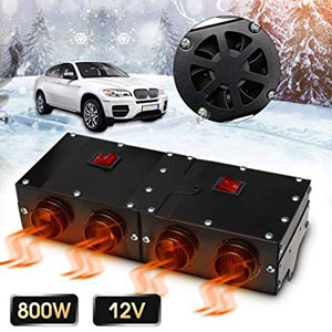 Shape 12V 800W Car Fan Heater