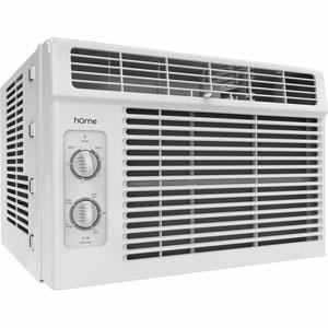 hOmeLabs 5000 BTU Window-Mounted Air Conditioner
