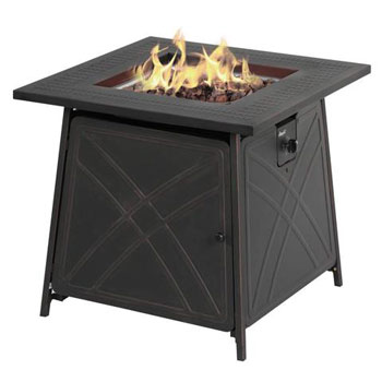 BALI OUTDOORS LP Gas Fireplace Fire Pit