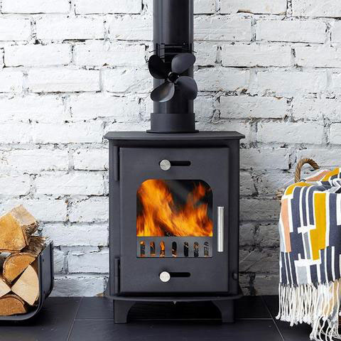 how does a wood stove work