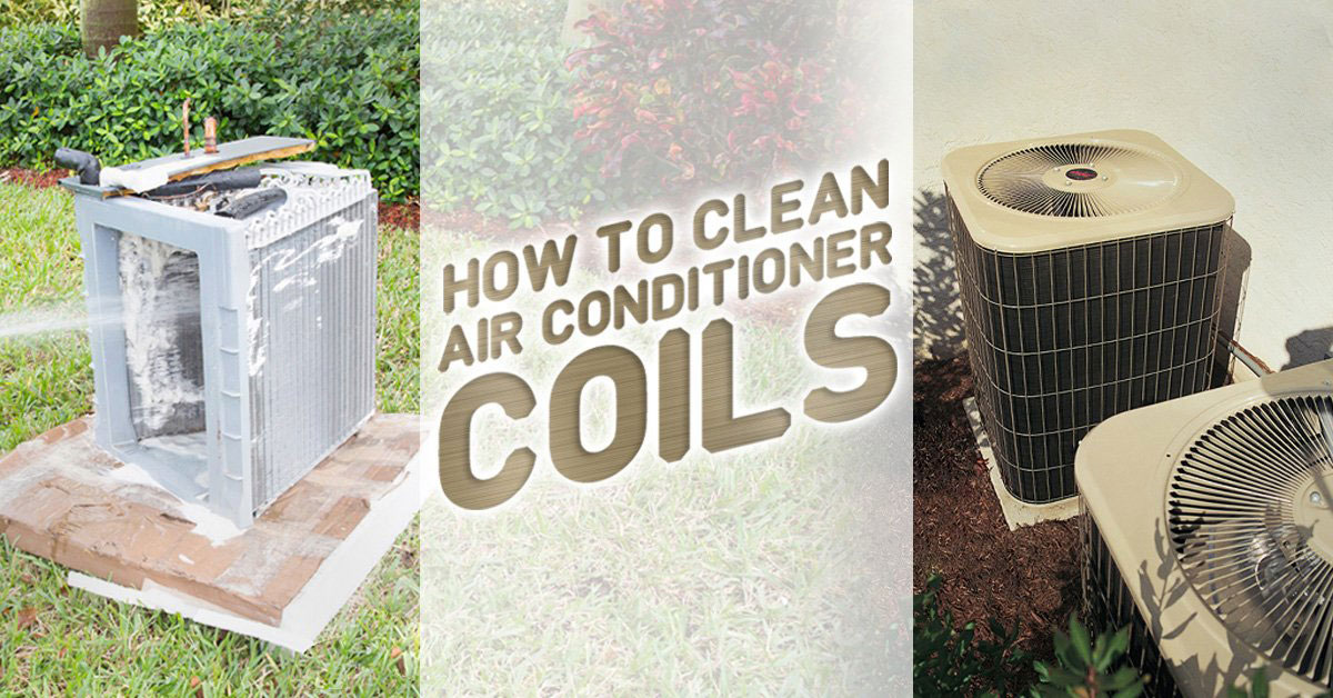 How to Clean Air Conditioner Coil Cleaner