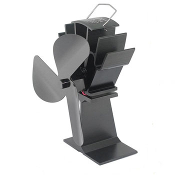 TOMERSUN 3 Blades Heat Powered Stove Fan