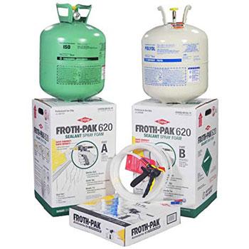 Dow Froth Pak 620 Spray Foam Sealant Kit