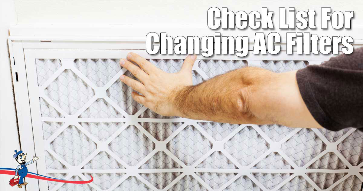 How to change AC Filters