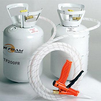 Tiger Foam E-84 Fast Rise 200 Bd/Ft Spray Foam Insulation Kit
