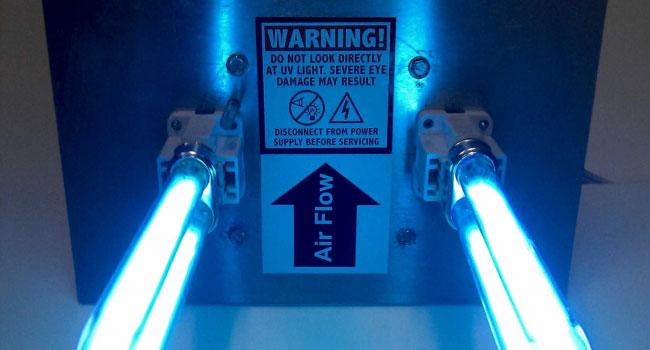 UV Lights for HVAC Installation