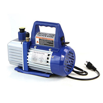 XtremepowerUS Single-Stage Rotary Vane Vacuum Pump
