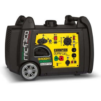 Champion 3400-Watt Dual Fuel Electric Start Portable