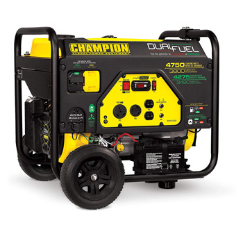Champion 3800-Watt Dual Fuel RV Ready
