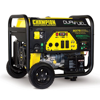 Champion 7500-Watt Dual Fuel