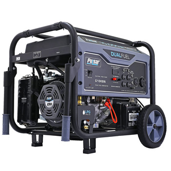Pulsar G10KBN Space Gray 10,000 Watt Portable Dual-Fuel