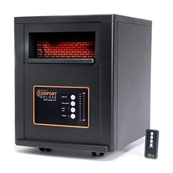 AirNmoreComfort Deluxe with Copper PTC, Infrared Space Heater